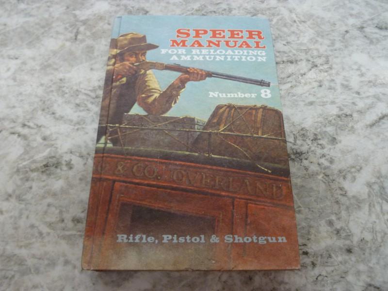 SPEER AMMUNITION Non-Fiction Book RELOADING MANUAL