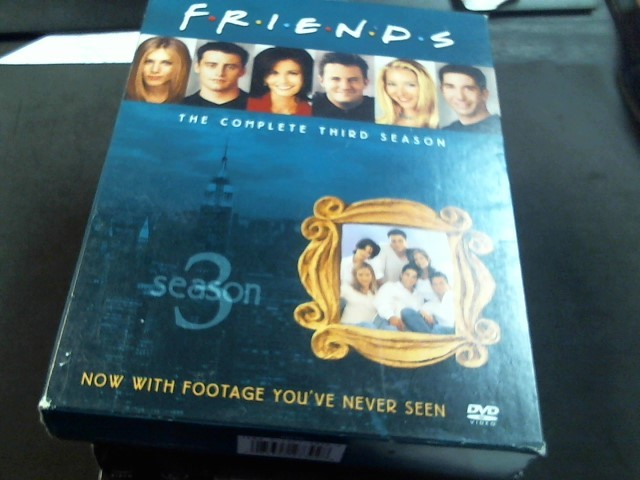 DVD MOVIE DVD FRIENDS THE COMPLETE THIRD SEASON