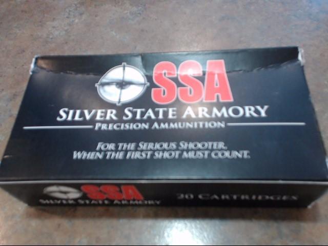 SILVER STATE ARMORY Ammunition .308 WIN 168 GRAIN