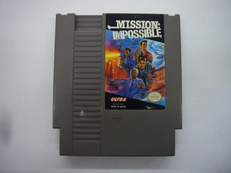 NINTENDO Nintendo NES Game MISSION: IMPOSSIBLE