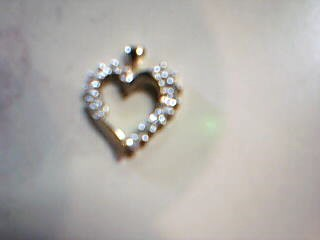 Gold-Multi-Diamond Pendant 22 Diamonds .22 Carat T.W. 10K Yellow Gold 1.4g