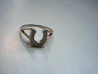 Lady's Diamond Fashion Ring 11 Diamonds .11 Carat T.W. 10K Yellow Gold 1.8g
