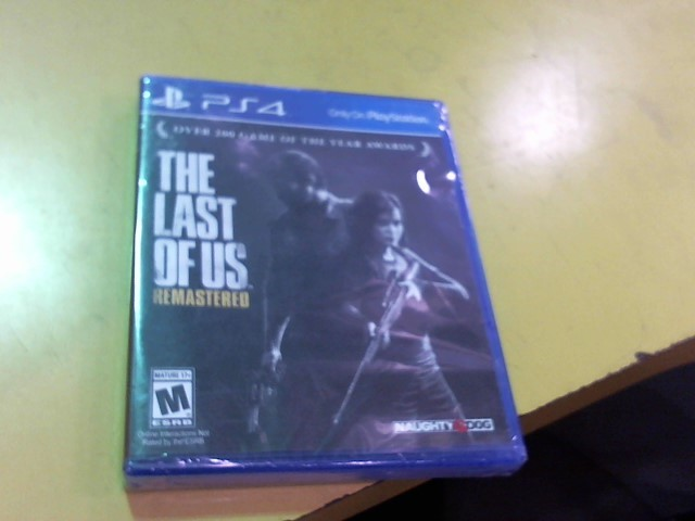 SONY Sony PlayStation 4 Game THE LAST OF US REMASTERED - PS4