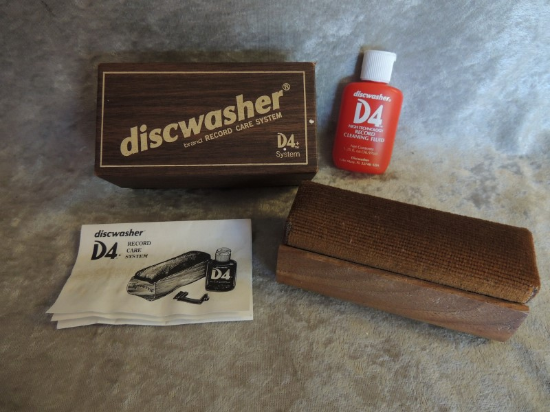 Discwasher D4+ Record Care System for Vinyl Vintage Usable