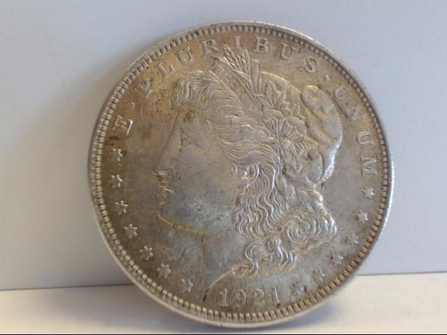 1921 Morgan Dollar $1 Coin NO MINT MARK 90% Sivler