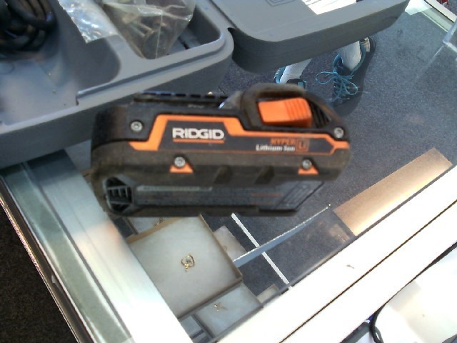 RIDGID TOOLS Battery/Charger 18V LITHIUM BATTERY