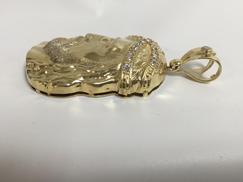 Gold Charm 10K Yellow Gold 25.2dwt