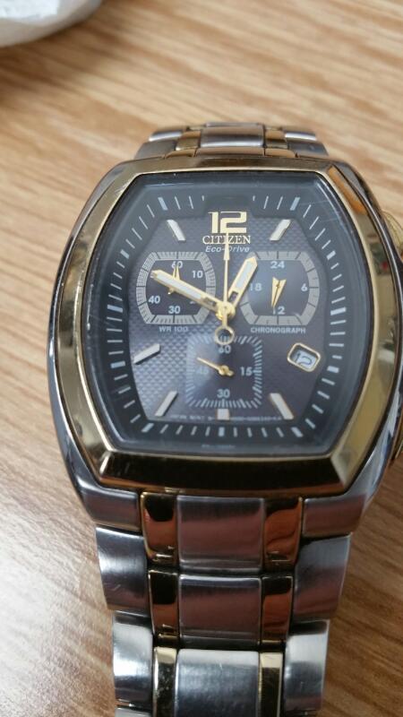 CITIZEN Gent's Wristwatch H500- S040434HST