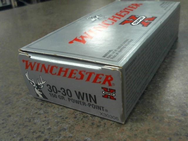 WINCHESTER Ammunition SUPER X 30-30 150 GR POWER POINT