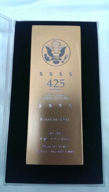 2007 D WASHINGTON PRESIDENTIAL DOLLARS BALLISTIC ROLL 50 COINS
