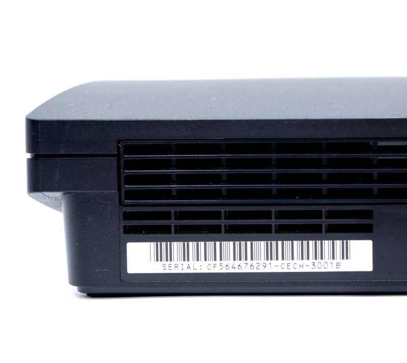 Sony Playstation 3 PS3 Slim 320GB CECH-3001B Charcoal Black Console*