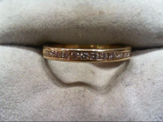 Lady's Diamond Engagement Ring 12 Diamonds .24 Carat T.W. 14K Yellow Gold 2g