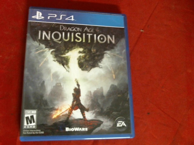 DRAGONAGE INQUISITION PS4 GAME