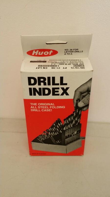 HUOT DRILL BIT INDEX]