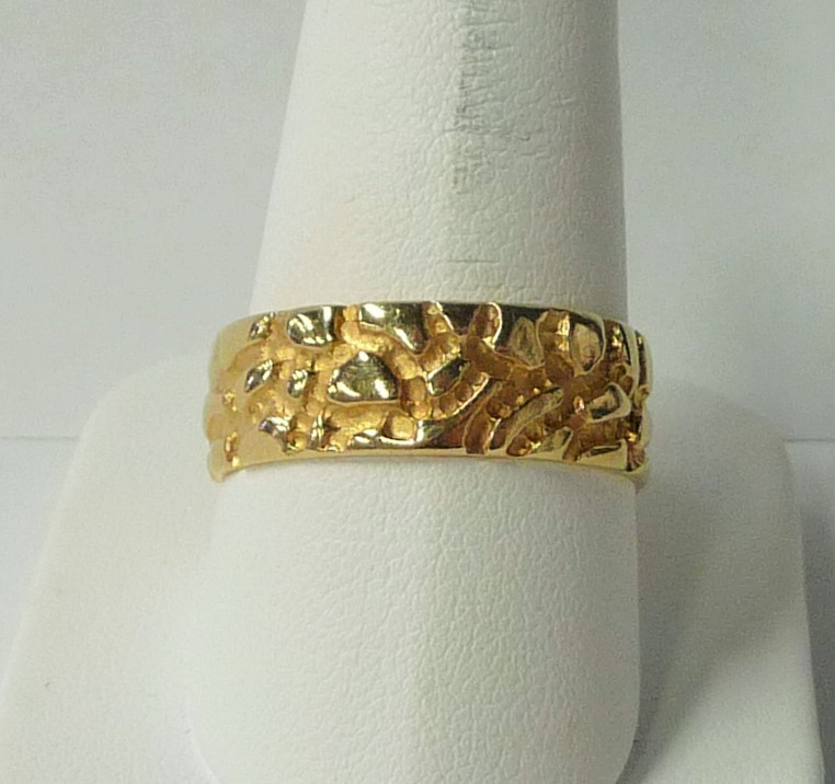 Gent's Gold Ring 14K Yellow Gold 3.86dwt