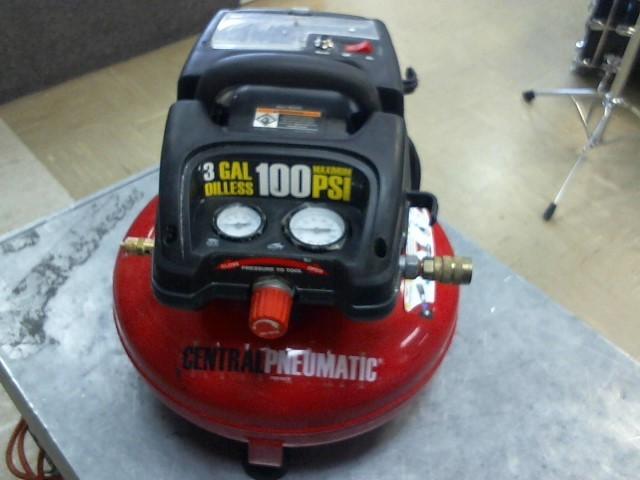 CENTRAL PNEUMATIC Air Compressor AIR COMPRESSOR