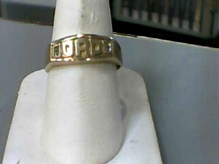 Gent's Gold Ring 10K Yellow Gold 1.7dwt Size:10