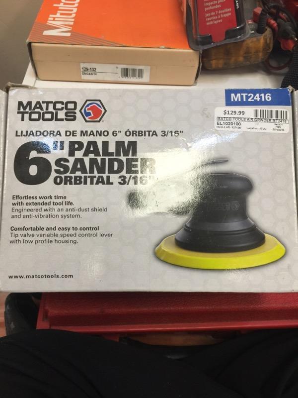 MATCO TOOLS Air Grinder MT2416