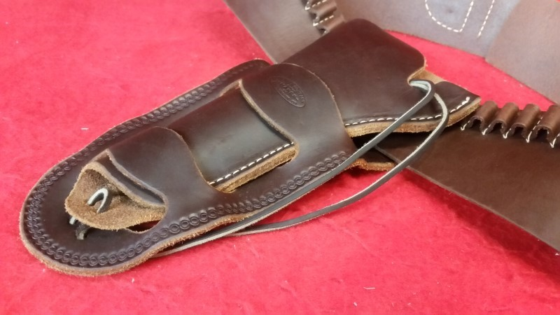 Hunter Company Brown Leather Western Holster 34""