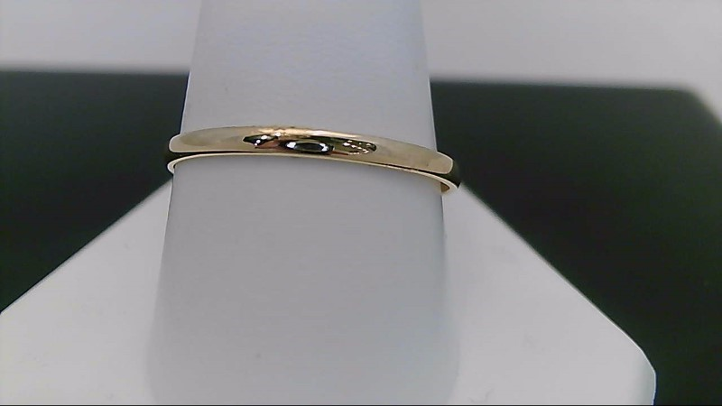 Lady's Gold Ring 14K Yellow Gold 1.2g