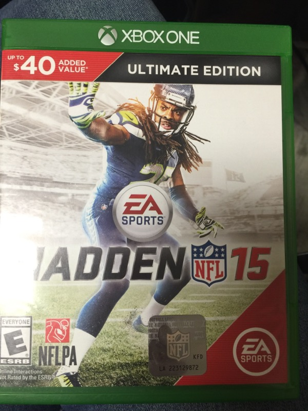 XBOX One Game MADDEN NFL 15