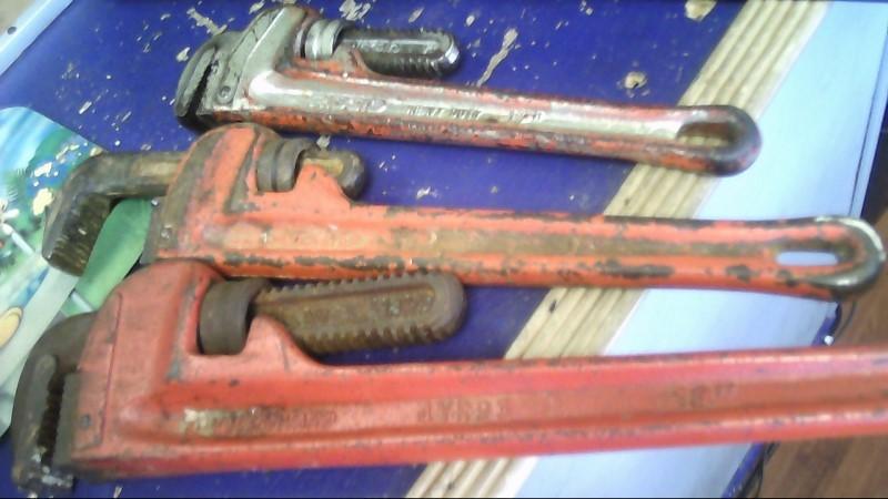 RIDGID TOOLS Level/Plumb Tool PIPE WRENCHS