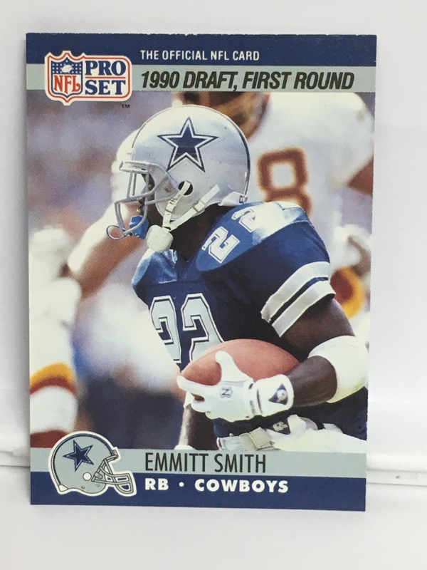1990 PRO SET EMMIT SMITH 685