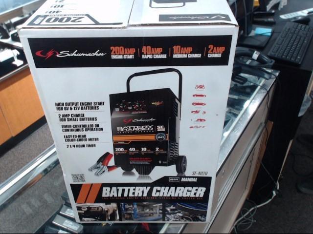 SCHUMACHER Battery/Charger SE-4020