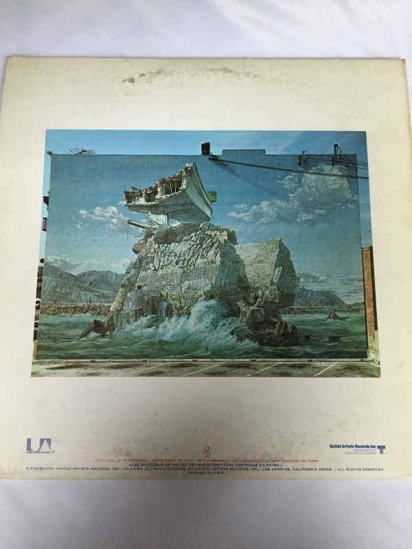 UNITED ARTISTS RECORD NITTY GRITTY DIRT BAND STARS & STRIPES FOREVER
