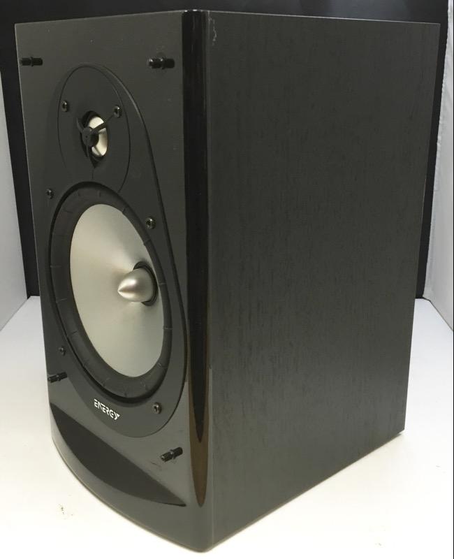 ENERGY CONNOISSEUR CB-20 BOOKSHELF SPEAKER SYSTEM 1 PAIR 150 WATT MAX