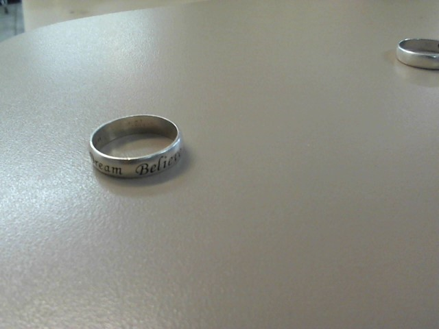 Lady's Silver Wedding Band 925 Silver 2.5dwt Size:11