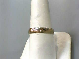 Gent's Gold Wedding Band 10K Yellow Gold 1.4dwt Size:8