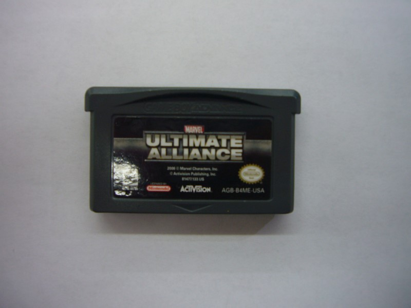 NINTENDO GBA Game MARVEL ULTIMATE ALLIANCE *CARTRIDGE ONLY*
