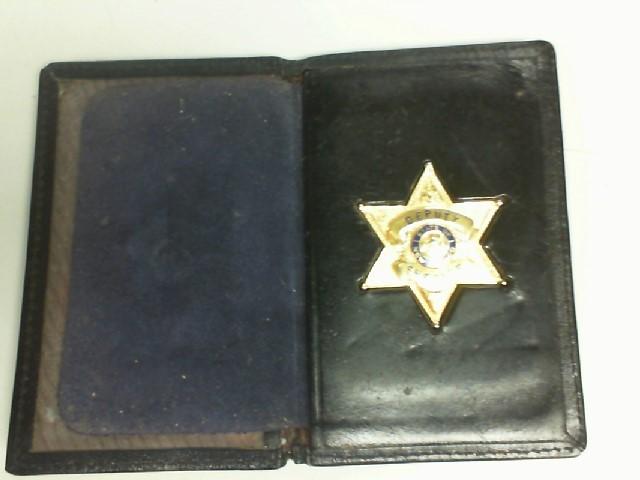 VINTAGE SHERIFF BADGE