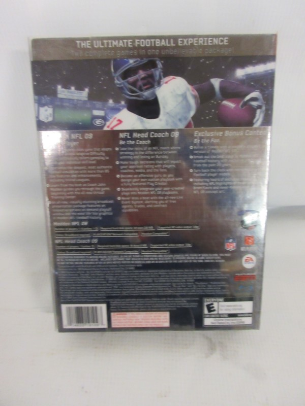 SONY PS3 MADDEN XX 2009 COLLECTOR'S EDITION
