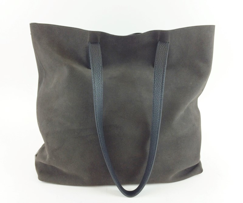 PRADA BR4819 BROWN LEATHER TOTE