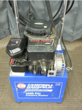 CAMPBELL HAUSFELD 3.75HP 2.0 GPM 1500PSI PRESSURE WASHER MODEL
