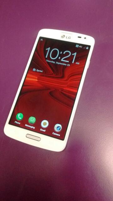 LG VOLT (SPRINT PREPAID) SMARTPHONE LGLS740 WHITE
