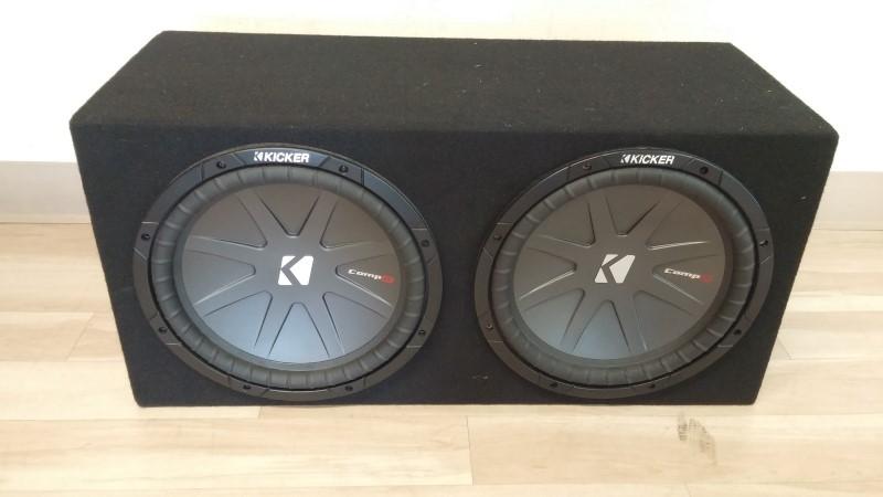 "KICKER Car Speakers/Speaker System COMP R 12""X2"