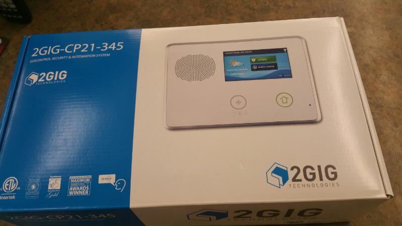 2 GIG TECHNOLOGIES Miscellaneous Appliances 2GIG-CP21-345