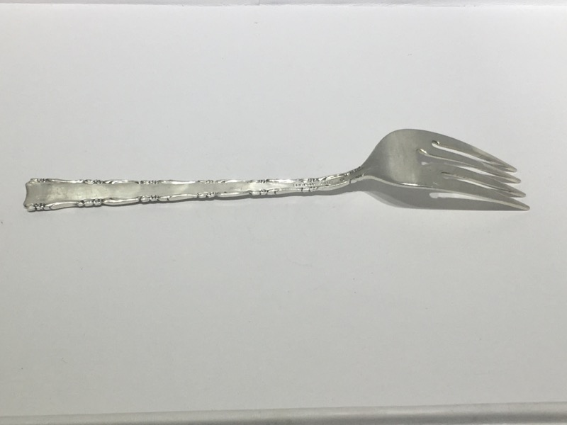 "Madrigal by Lunt 6-7/8"" Sterling Silver Individual Salad Fork NO MONO"