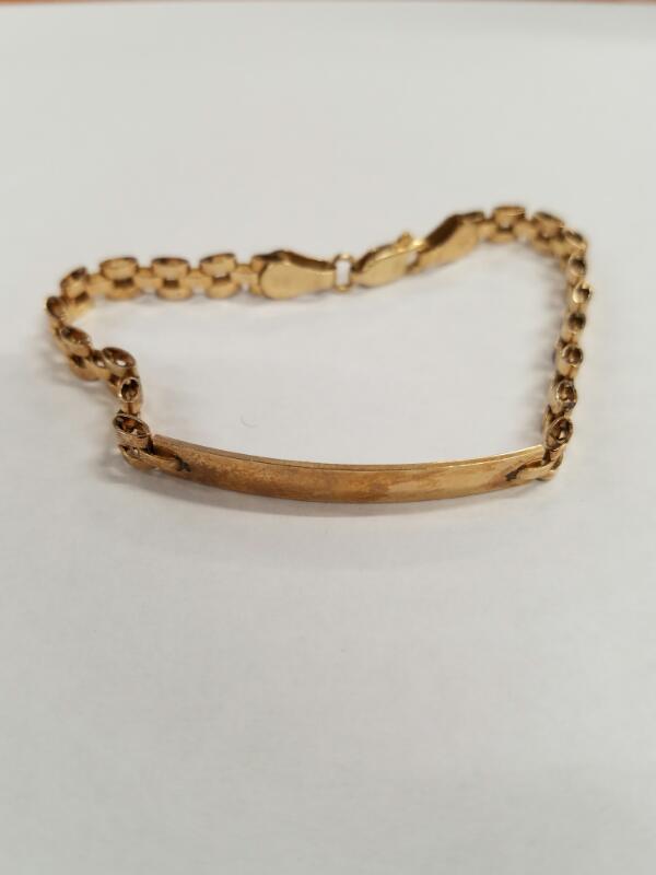 Gold Bracelet 10K Yellow Gold 6.6g