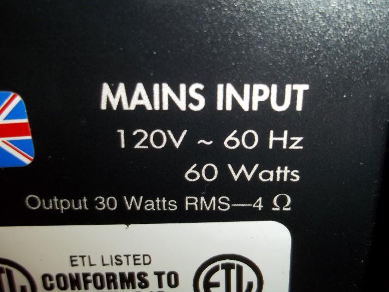 MARSHALL VS30R VALVESTATE AMP