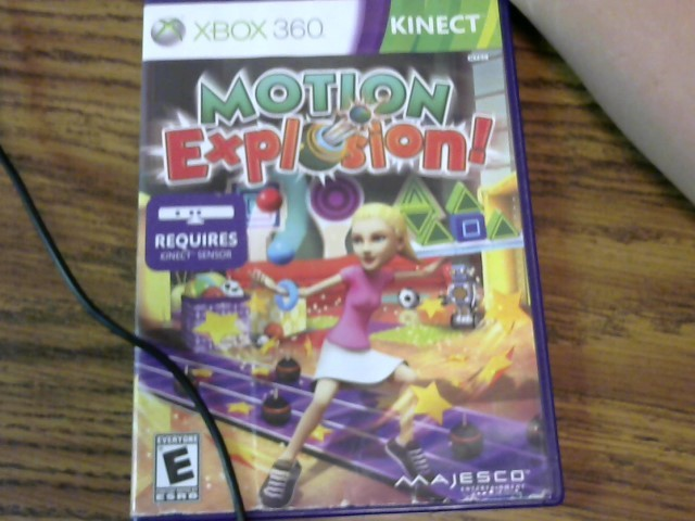 Kinect Motion Explosion Xbox 360