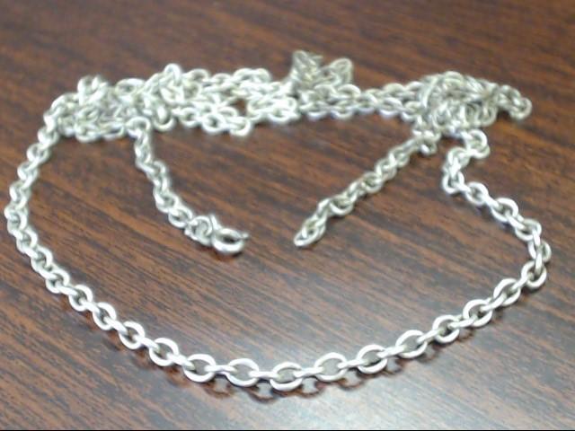 "32"" Silver Chain 925 Silver 11.8g"