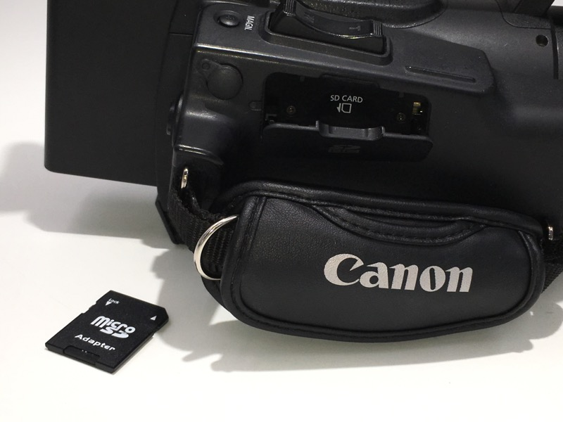 "Canon XF-105 ""High Definition Professional Camcorder"" 1080, SD & CF"