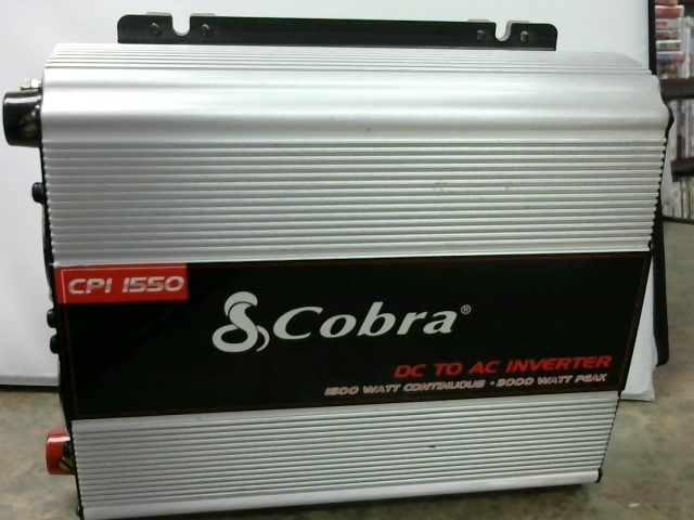 COBRA Battery/Charger CPI 1550