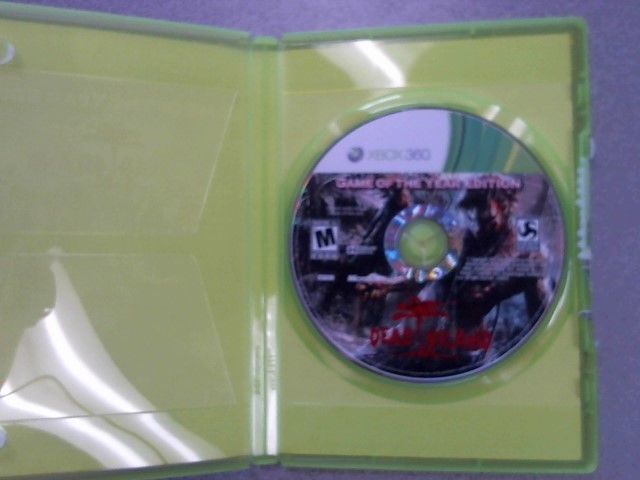 MICROSOFT Microsoft XBOX 360 Game DEAD ISLAND GAME OF THE YEAR EDITION