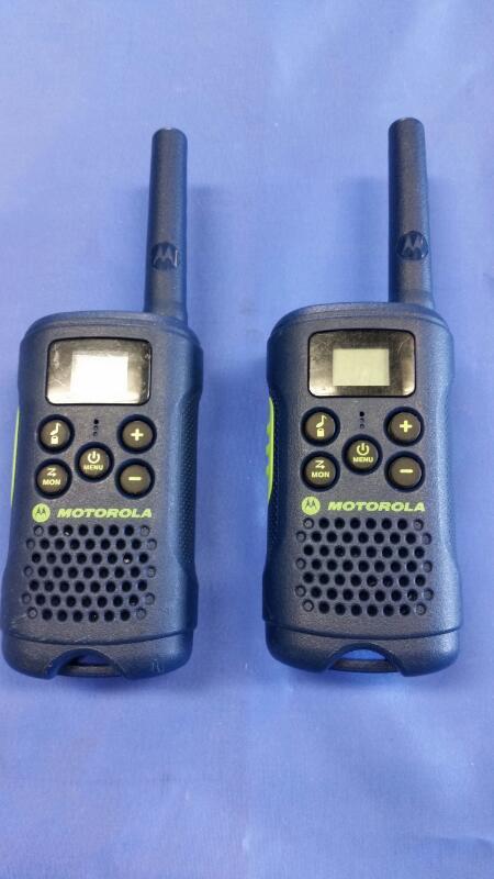 MOTOROLA 2 Way Radio/Walkie Talkie MG163A