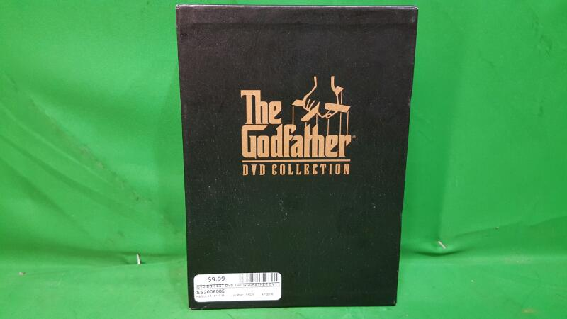 DVD BOX SET DVD THE GODFATHER DVD COLLECTION